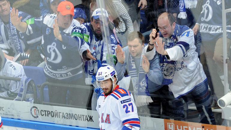 Вячеслав ВОЙНОВ в матче за СКА. Фото Алексей ИВАНОВ, «СЭ»