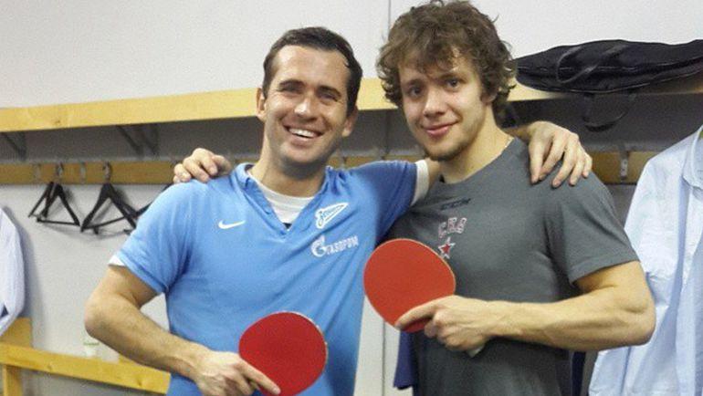 Александр КЕРЖАКОВ (слева) и Артемий ПАНАРИН. Фото instagram.com