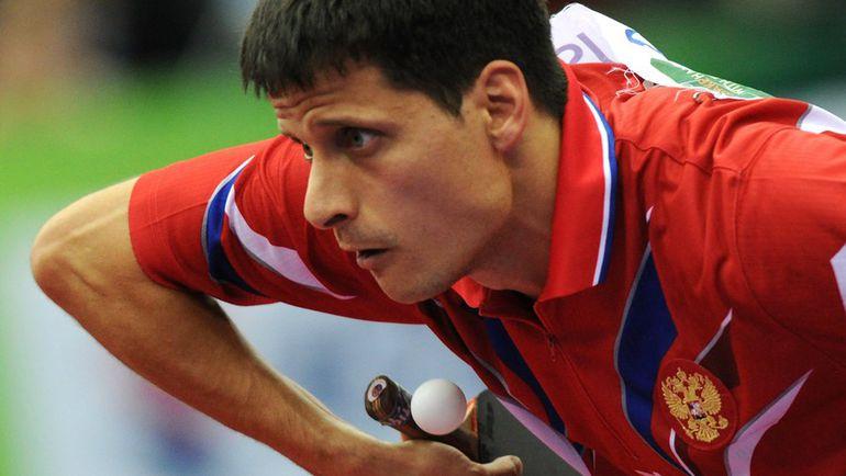 На сегодняшний день лидером сборной России по настольному теннису является Алексей СМИРНОВ. Фото AFP