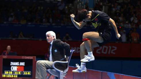 Чжан Цзике – победитель соревнований в настольном теннисе