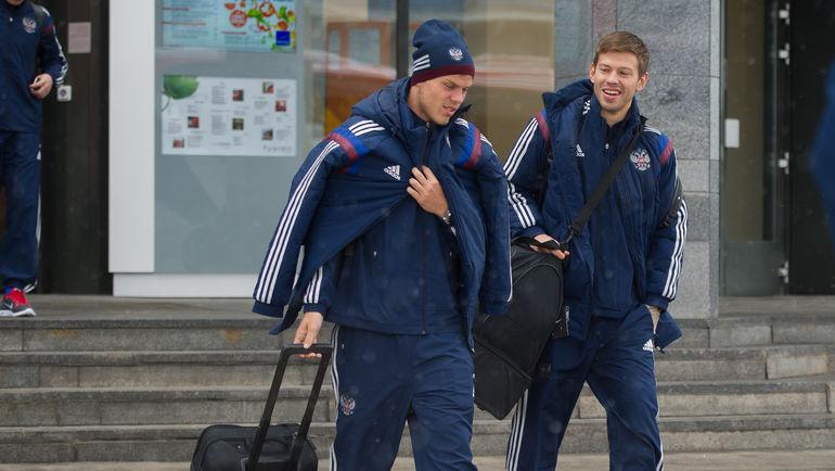 Александр КОКОРИН и Федор СМОЛОВ. Фото Антон СЕРГИЕНКО