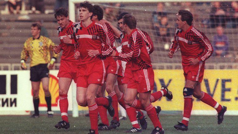 Сборная СНГ: впереди - Euro-1992. Фото Александр ФЕДОРОВ, «СЭ»