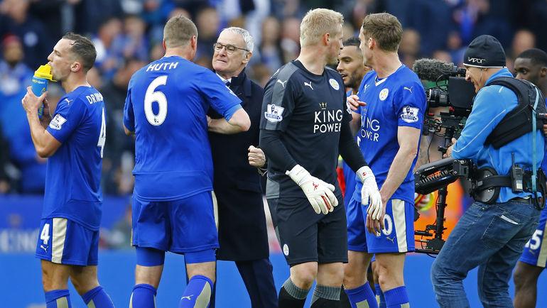 """В воскресенье """"Лестер"""" может стать чемпионом Англии. Фото Reuters"""