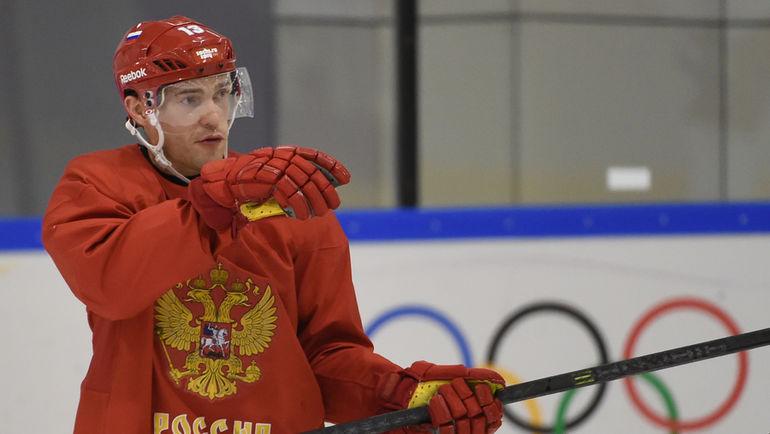 Нападающий сборной России Павел ДАЦЮК. Фото Александр ФЕДОРОВ, «СЭ»