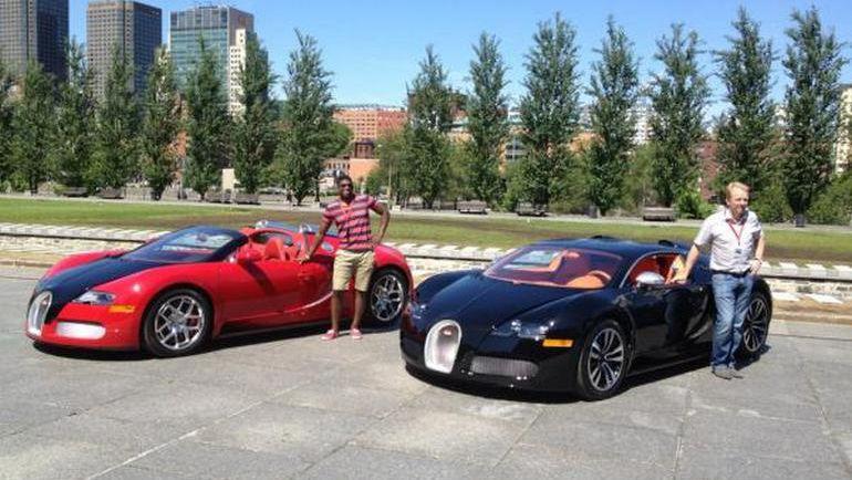 Bugatti Veyron Пи. Кея. СУББАНА. Фото http://blog.dupontregistry.com/celebrity-cars/top-7-nhl-players-cars/