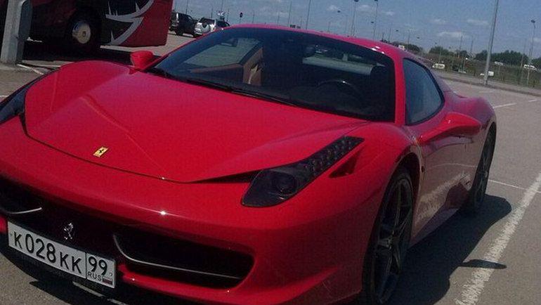 Ferrari 458 Spider Дениса КУЛЯША. Фото http://www.bk55.ru/