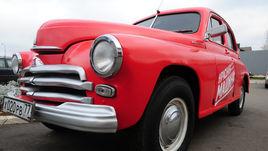 Красная машина.