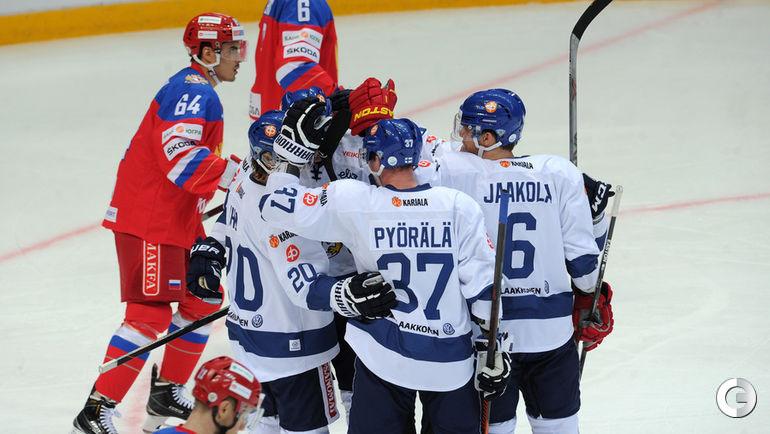 Суббота. Москва. Россия - Финляндия - 2:3.