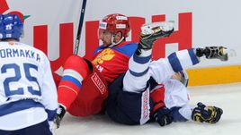 Сегодня. Москва. Россия – Финляндия – 2:3. Россияне во второй раз за три дня уступили финнам.