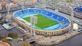 """Санкт-Петербург. Стадион """"Петровский""""."""