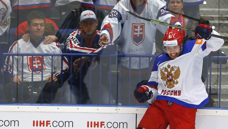 2015 год. Вице-чемпион мира в составе сборной России Артемий ПАНАРИН. Фото Reuters
