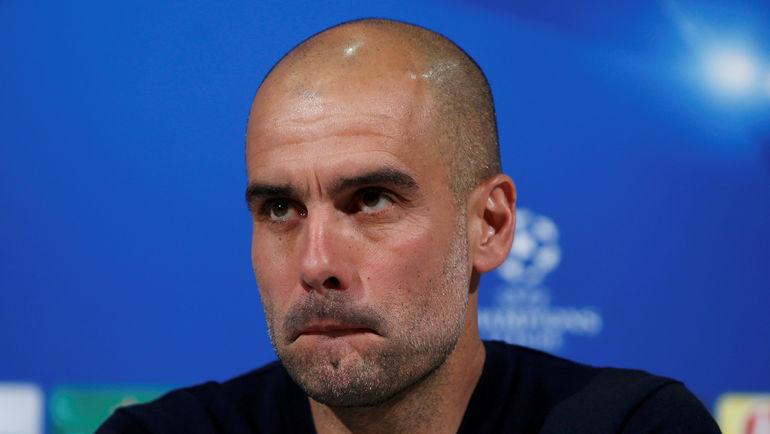 """Какой состав выберет наставник """"Баварии"""" Пеп ГВАРДЬОЛА на ответный матч? Фото Reuters"""