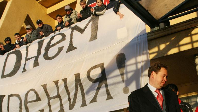2007 год. Леонид СЛУЦКИЙ. Фото Александр ФЕДОРОВ, «СЭ»
