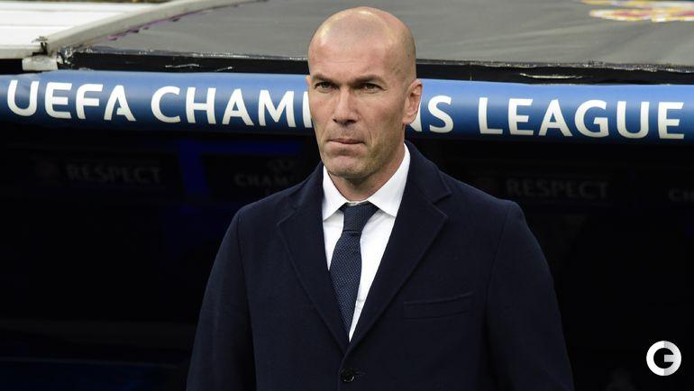"Среда. Мадрид. ""Реал"" - ""Манчестер Сити"" - 1:0. Зинедин Зидан - тренер ""Реала""."
