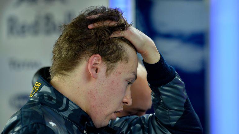 Даниил КВЯТ. Фото AFP
