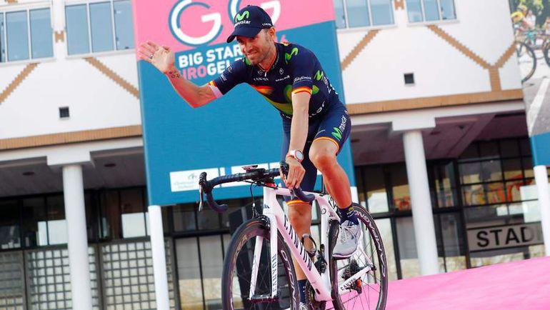 Четверг. Апелдорн. 36-летний Алехандро ВАЛЬВЕРДЕ впервые в карьере выступит на итальянском гранд-туре. Фото AFP