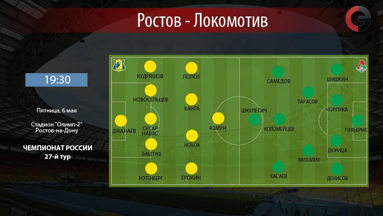"""""""Ростов"""" vs """"Локомотив"""". Фото «СЭ»"""