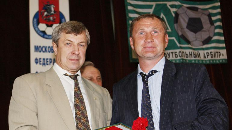"""Игорь ЗАХАРОВ (справа). Фото Александр ФЕДОРОВ, """"СЭ"""""""