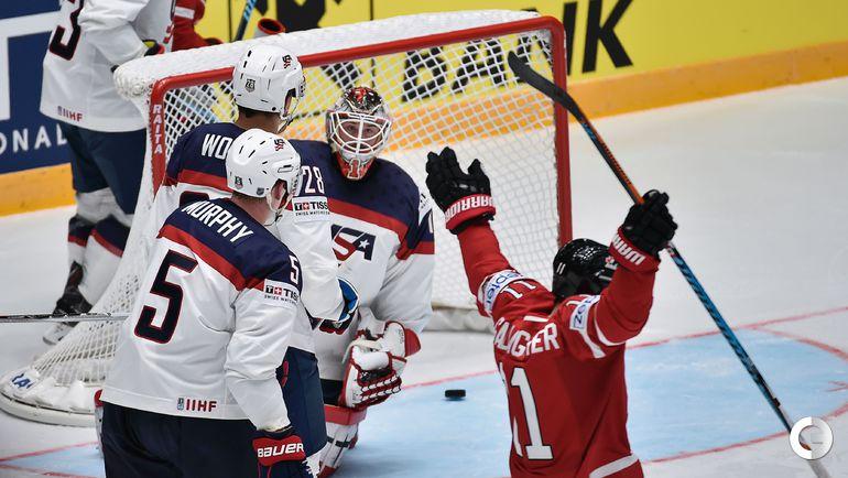 Сегодня. Санкт-Петербург. Чемпионат мира. Группа B. США – Канада – 1:5.