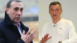 Евгений ГИНЕР и Валентин ИВАНОВ.