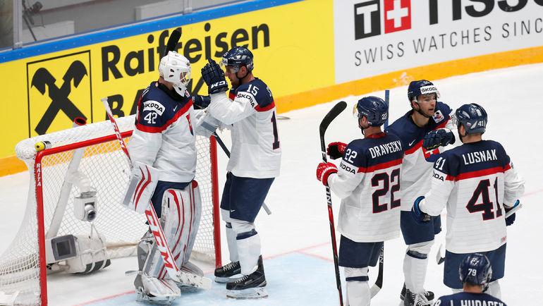 Сборная Словакии готова к матчу с Францией. Фото Reuters