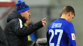 Игорь ДЕНИСОВ (справа) и главный тренер