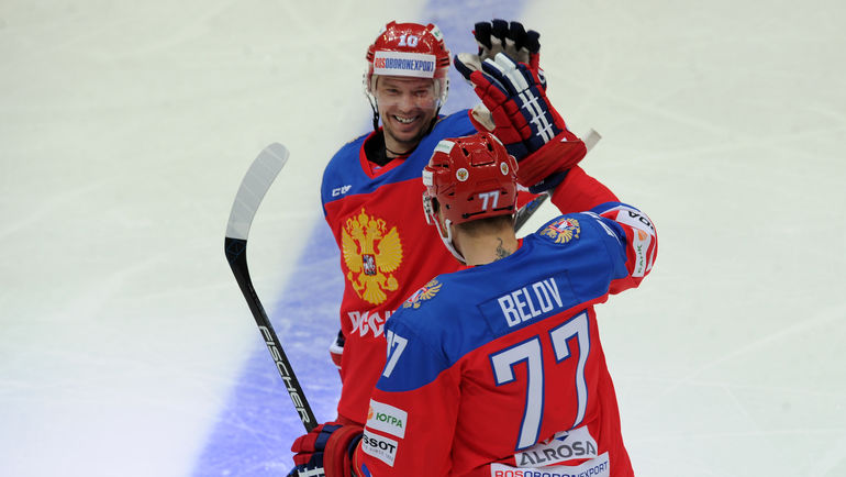 Сергей МОЗЯКИН и Антон БЕЛОВ (№77). Фото Алексей ИВАНОВ, «СЭ»