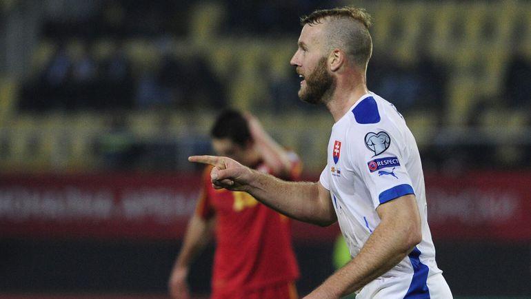 Нападающий сборной Словакии Адам НЕМЕЦ. Фото Reuters