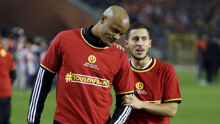 Вместо Венсана КОМПАНИ капитан сборной Бельгии будет Эден АЗАР. Фото Reuters