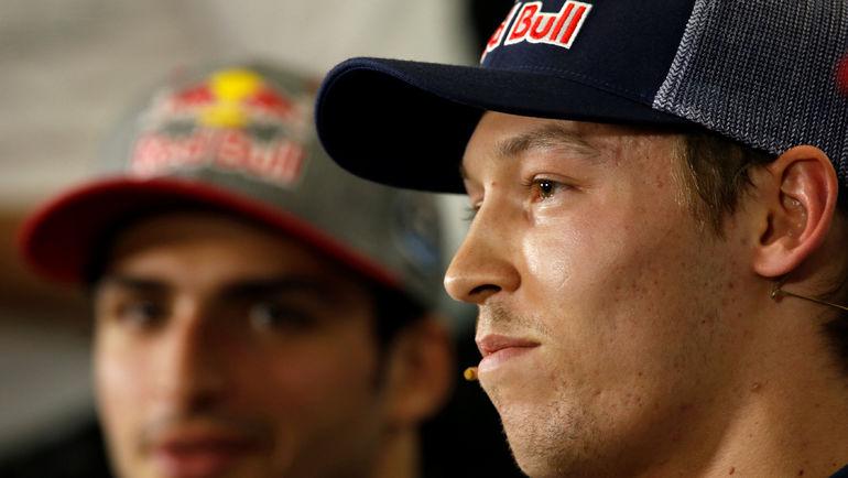 Карлос САЙНС и Даниил КВЯТ. Фото Reuters