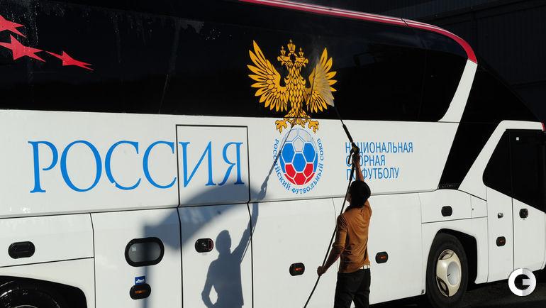 """На Euro-2016 на автобусе сборной России появится девиз """"Один за всех и все за одного!"""""""