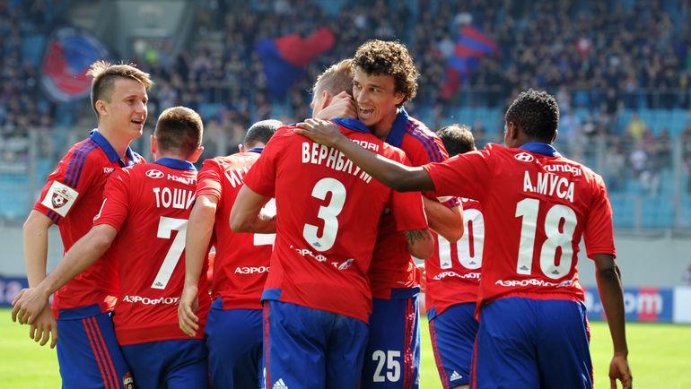 Станет ли ЦСКА чемпионом в 29-м туре? Фото Алексей ИВАНОВ, «СЭ»