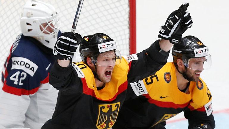 Сборная Германии бьется за плей-офф, но сможет ли она победить США? Фото Reuters