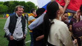 Семин оценил красоту женского футбола