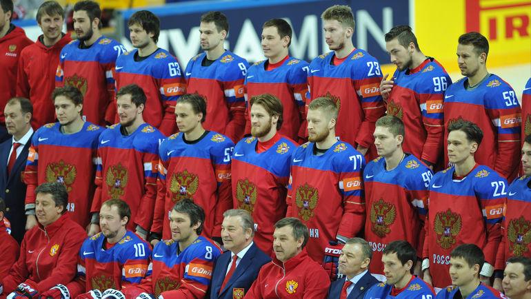 Национальная команда России. Фото Александр ФЕДОРОВ, «СЭ»