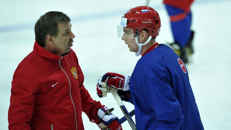 Олег ЗНАРОК и Евгений КУЗНЕЦОВ. Фото «СЭ»