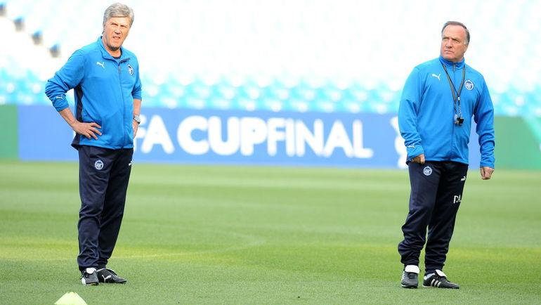 Корнелиус ПОТ и Дик АДВОКАТ. Фото AFP