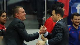 Андрей ВАТУТИН (слева) и Димитрис ИТУДИС.