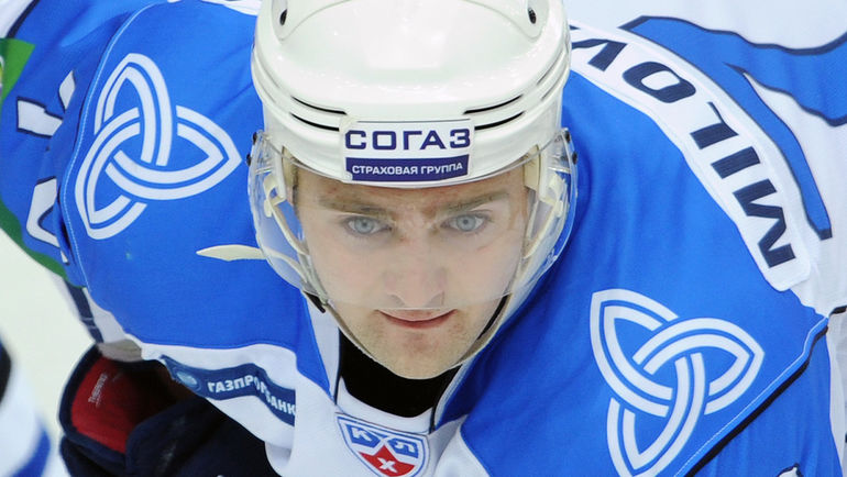 Нападающий Егор МИЛОВЗОРОВ. Фото Александр ФЕДОРОВ, «СЭ»
