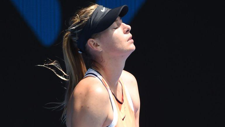 7 марта Мария ШАРАПОВА объявила о провале допинг-теста - и не выходит на корт с января после поражения от Серены Уильямс в четвертьфинале Australian Open. Фото AFP
