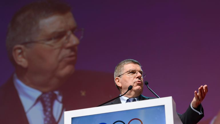 Глава МОК Томас БАХ уже не исключил, что российские атлеты могут не попасть в Рио. Фото AFP