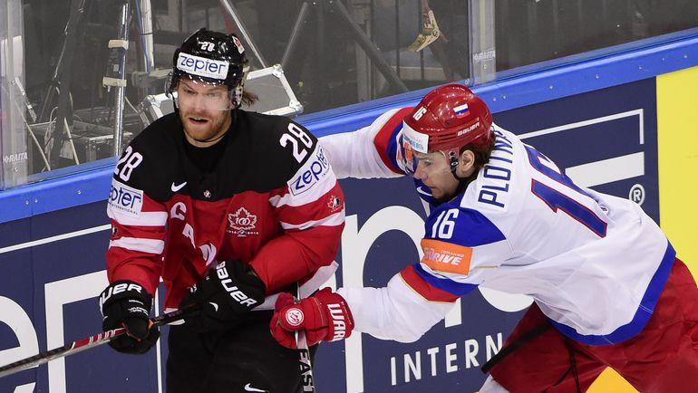 Клод ЖИРУ и Сергей ПЛОТНИКОВ. Фото Reuters