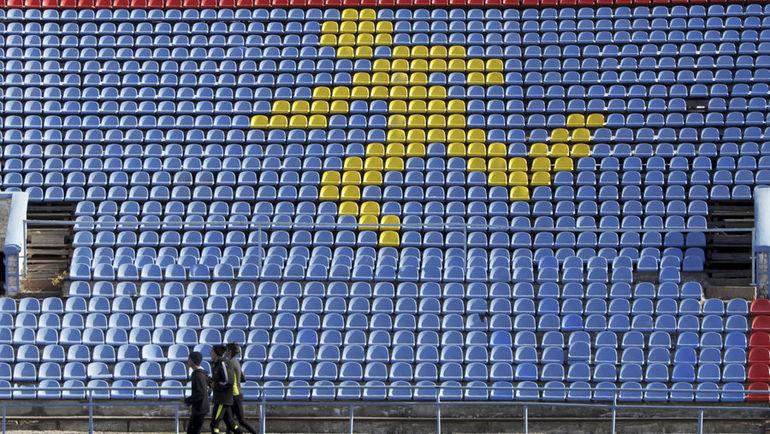Легкоатлетический стадион в Ставрополе. Фото REUTERS
