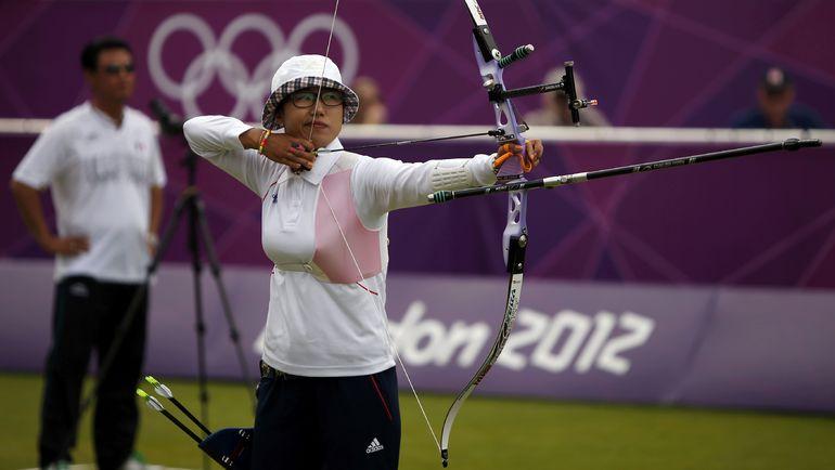 Олимпийская чемпионка-2012 КИ БО БЭ. Фото Reuters