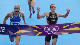 Никола Шпириг - олимпийская чемпионка в триатлоне