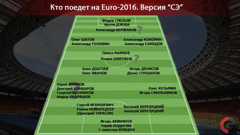 """Кто поедет на Euro-2016. Фото """"СЭ"""""""