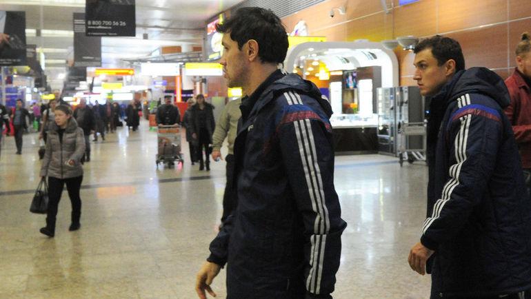 """Эдуард БЕЗУГЛОВ (справа) - о Юрие ЖИРКОВЕ: """"Он хотел сыграть на Euro. И тренер хотел видеть его в команде"""". Фото Федор УСПЕНСКИЙ, «СЭ»"""