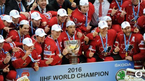 Канада - чемпион мира 2016