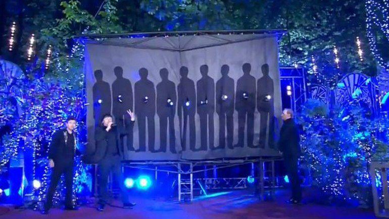 Вчера. Москва. Фокус с исчезновением сборной. Фото Первый канал