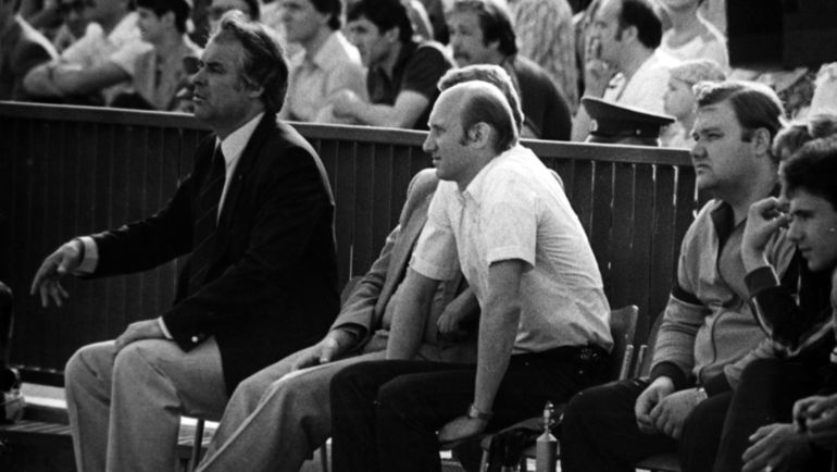 1987 год. Юрий МОРОЗОВ (слева).